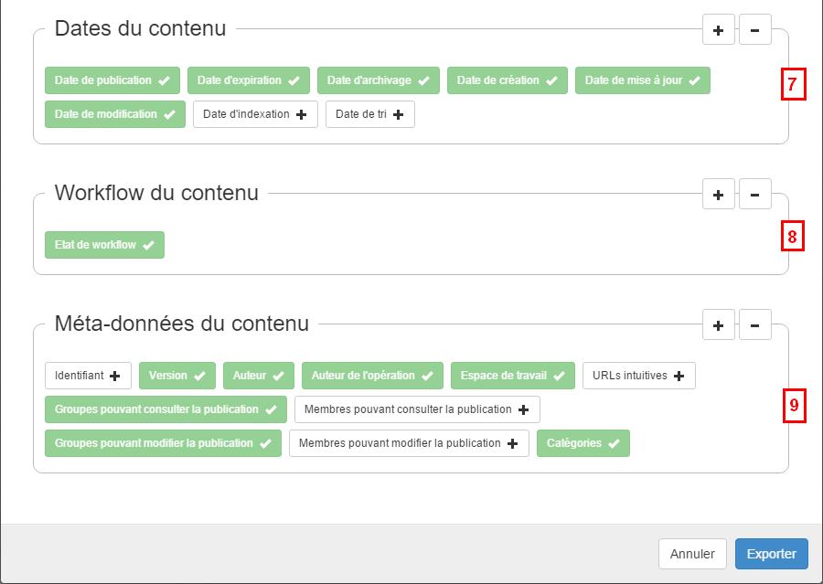 exportCSV exemple2